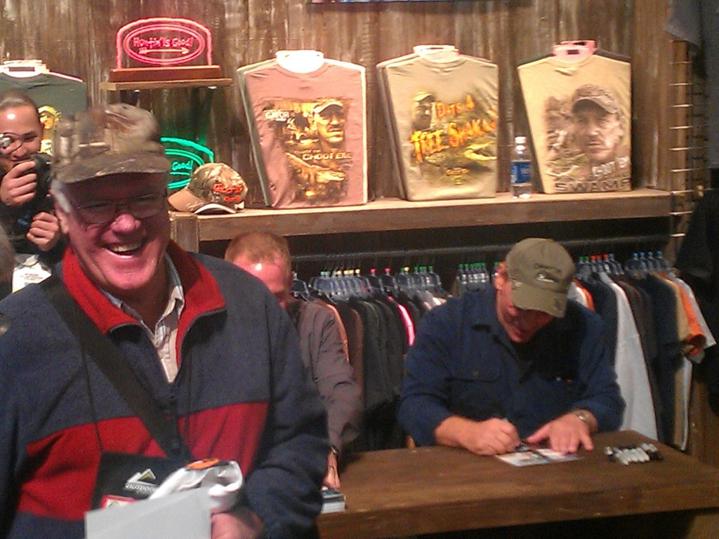 Troy From Swamp People And R Lee Ermey Aka The Gunny At
