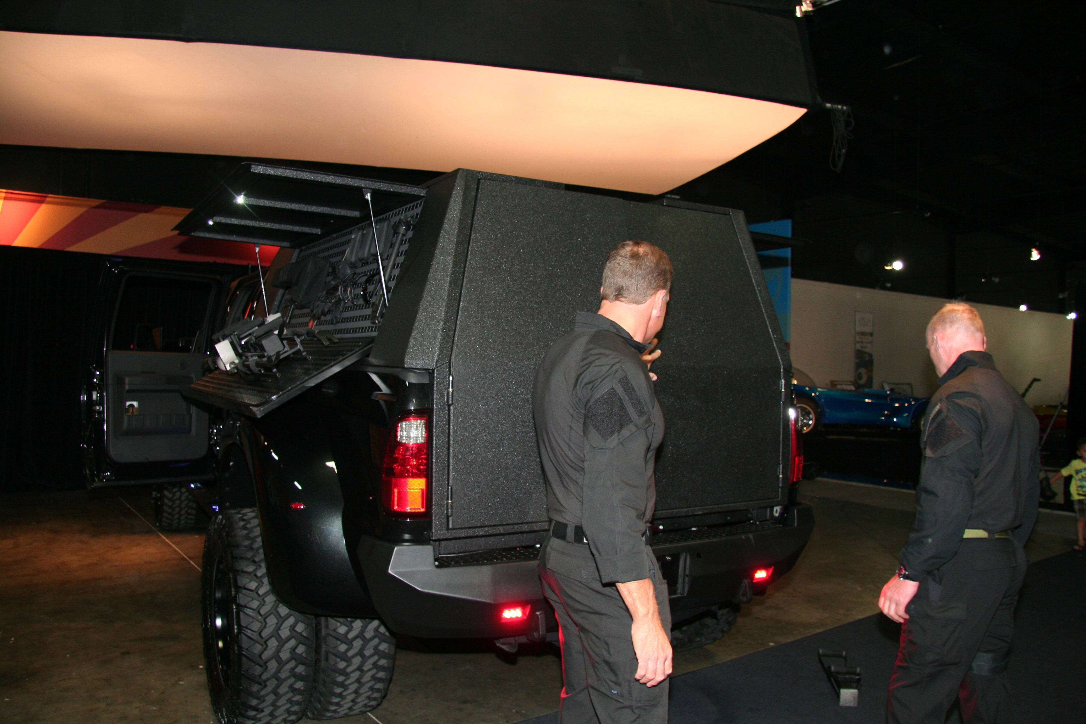 2012 Ford F 450 511 Tactical Demo Truck Rear Doors On