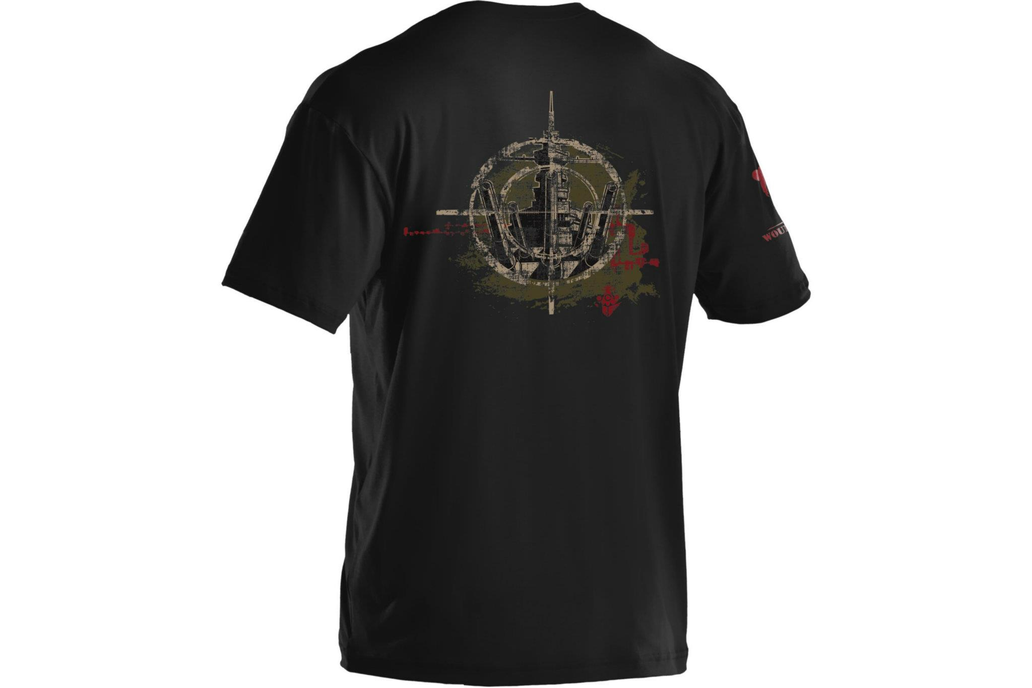 Under Armour Wounded Warrior Project Battleship T Shirts