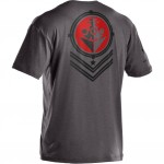 Under Armour Wounded Warrior Project Battleship T-shirt
