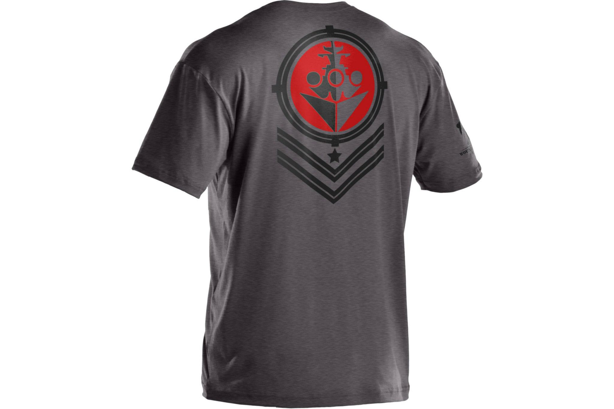 Under armour wounded warrior project battleship t shirts for Under armour i will shirt