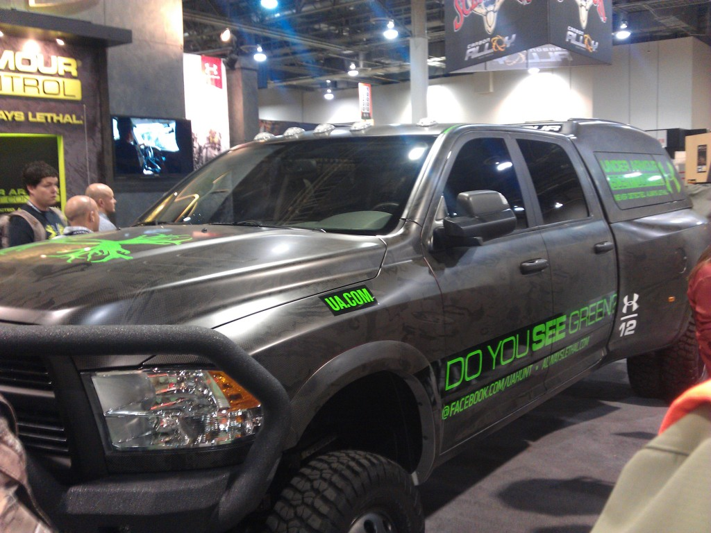 Under Armour at 2013 SHOT Show