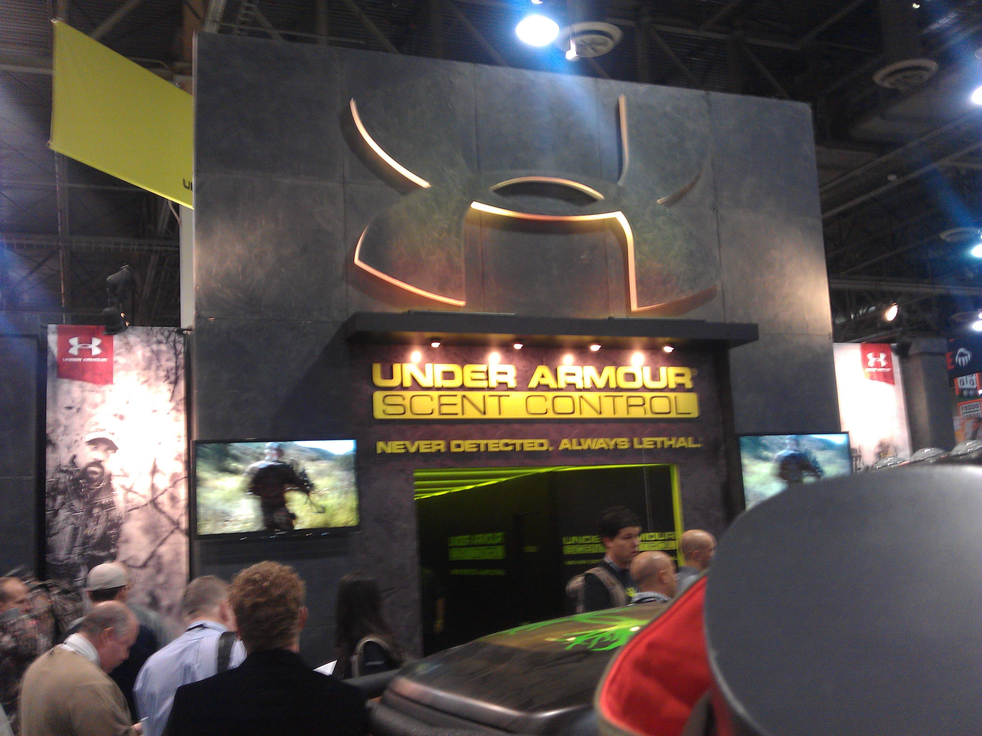 Under Armour SHOT Show Booth
