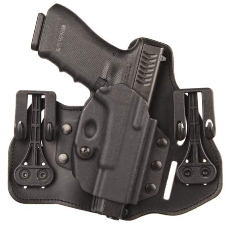 Blackhawk's Tuckable Leather Pancake Holster at the 2013 SHOT Show
