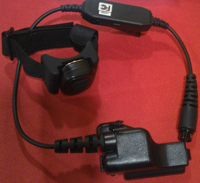 Code Red Headset Wireless and Throat Mics the 2013 SHOT Show