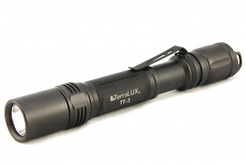Terralux TT3 Tactical Flashlight