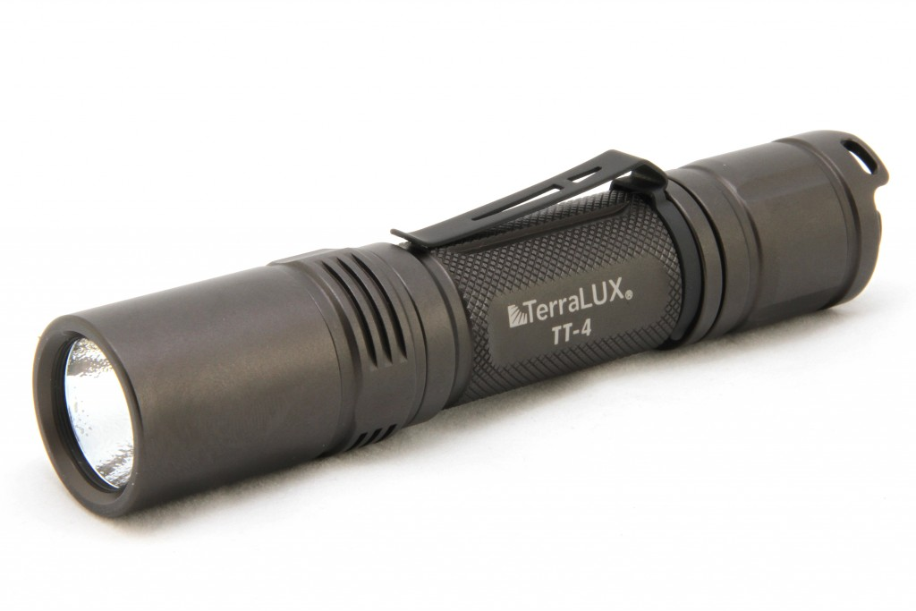 Terralux TT4 Tactical Flashlight