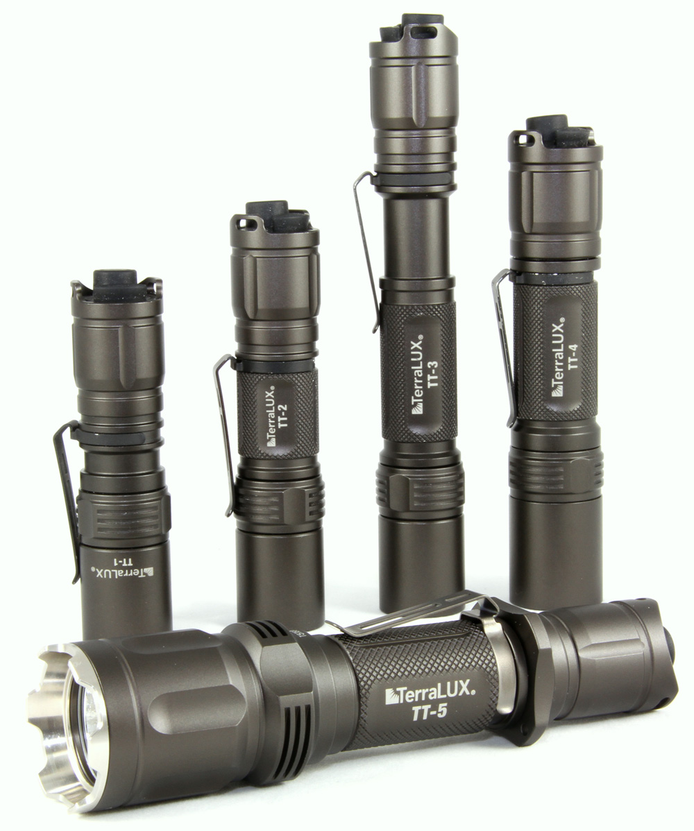 Terralux LED Conversion Kits and TT-1, TT-4 and TT-5 Tactical Lights now available