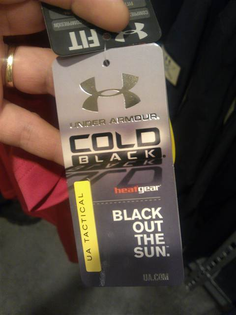 Under Armour SOAS Cold Block Hoody Tag