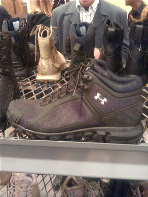 Under Armour Tactical Ops Training And Venom Mid Boots