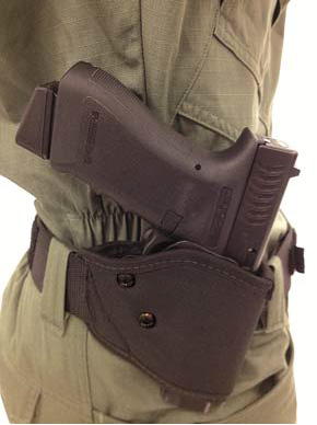 Blackhawk Gripbreak Nylon Holster at the 2013 SHOT Show
