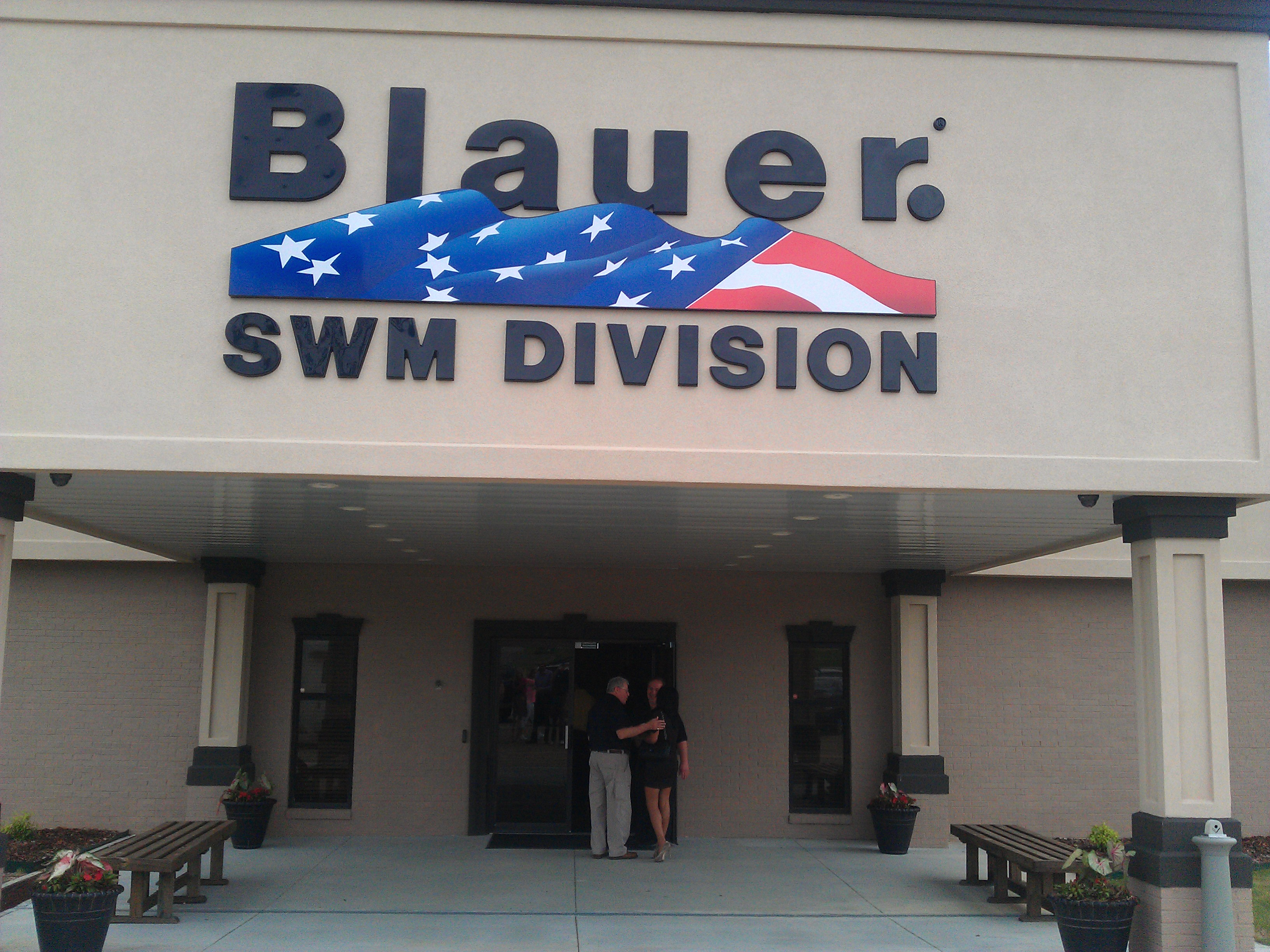 Thank you to Blauer for a great factory visit!
