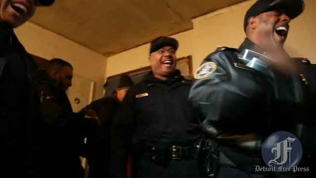 Detroit Police Chief answering suspected dealer's phone during Operation Mistletoe [VIDEO]