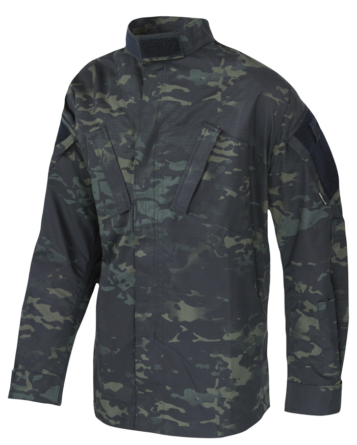 1229 TRUSPEC Jacket MultiCam Black