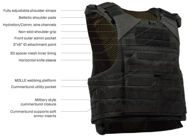 Armor Express Bulldog Corrections Special Ops Carrier