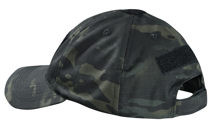 TRUSPEC ContractorsCap 3329 Back MultiCam Black