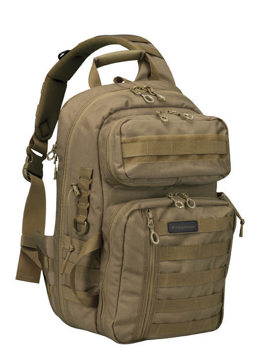Video and Pics of the Propper Bias Sling Backpack