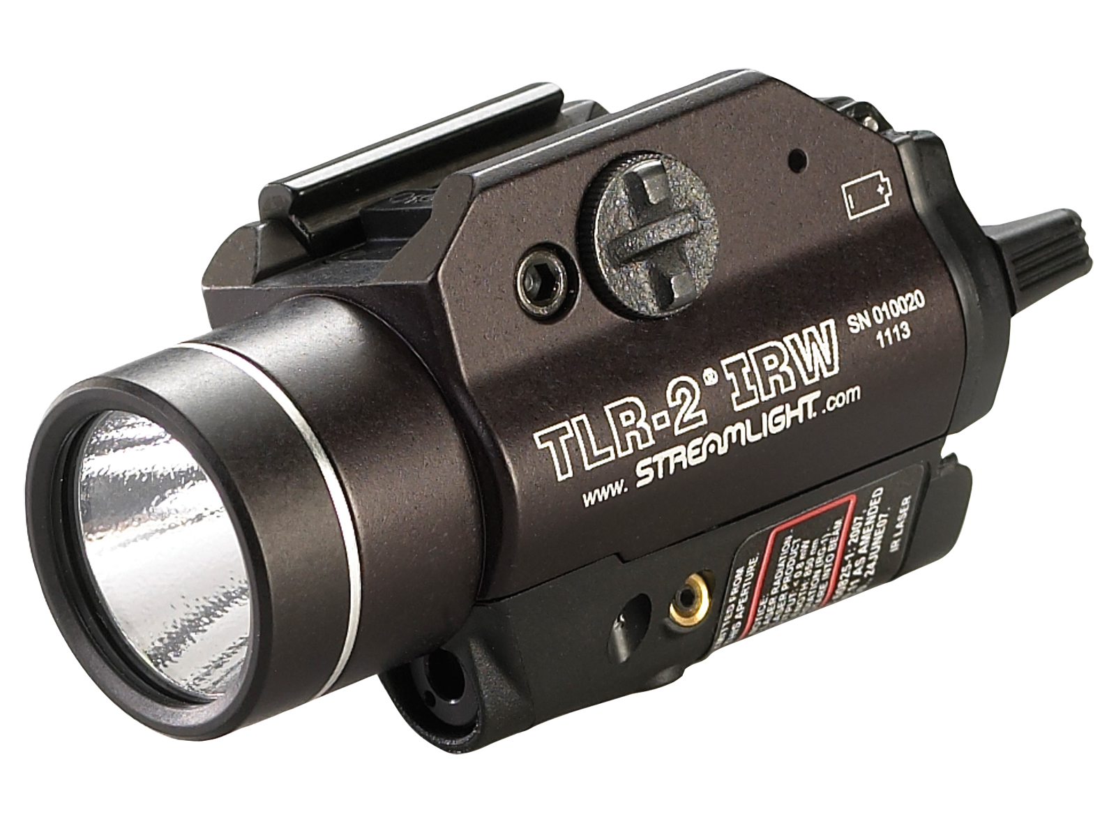 Streamlight TLR-2 IRW Weaponlight w/ Eye Safe Laser at 2014 SHOT Show