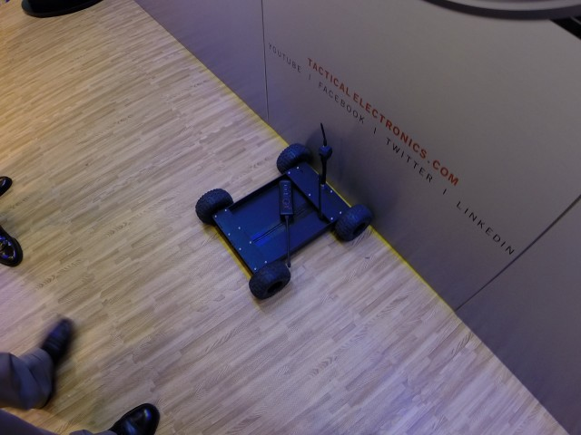 Tactical Electronics SIRE Robot at the 2014 SHOT Show