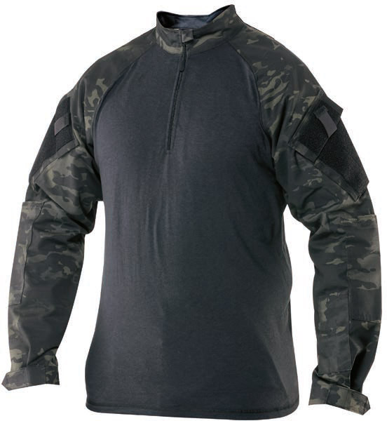 Tru Spec MultiCam Black Winter Combat Shirt