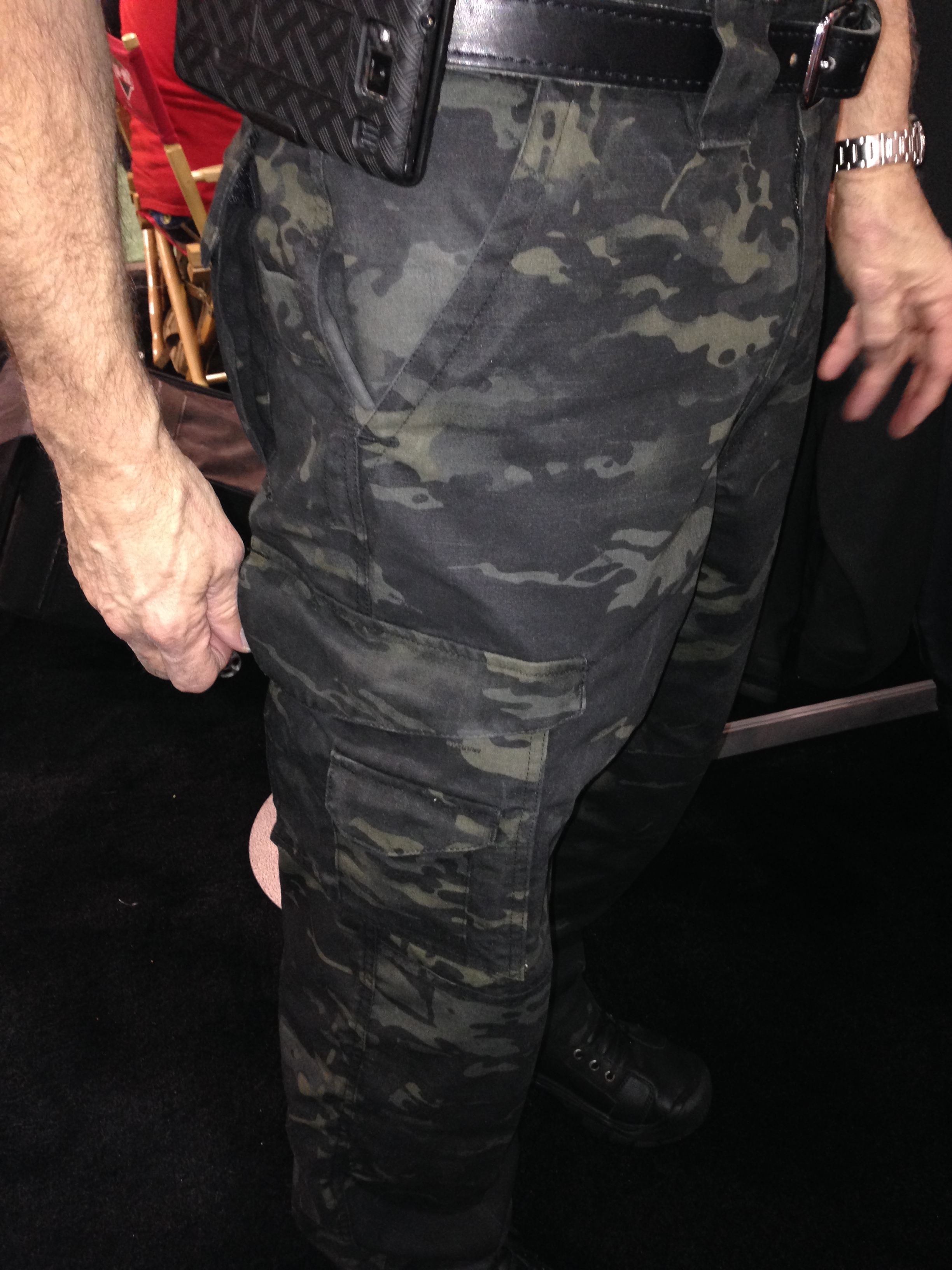 Truspec Multicam Black Pants On Duty Gear Police