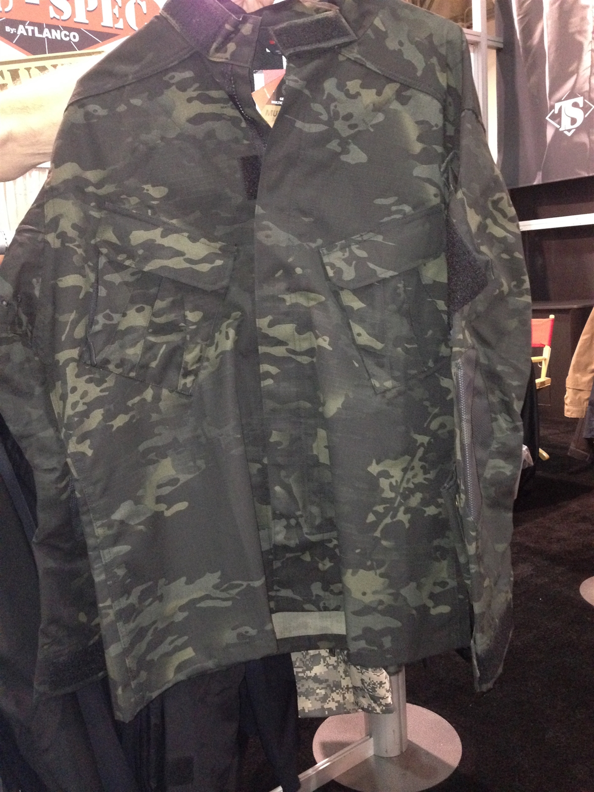 Truspec Multicam Black Shirt On Duty Gear Police