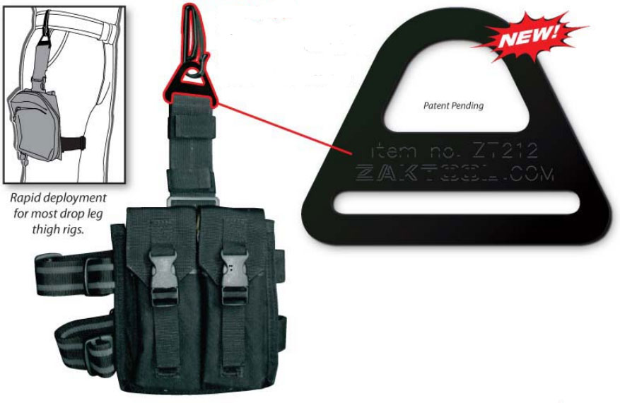 ZAK Tool 212 Tactical Belt Clip System