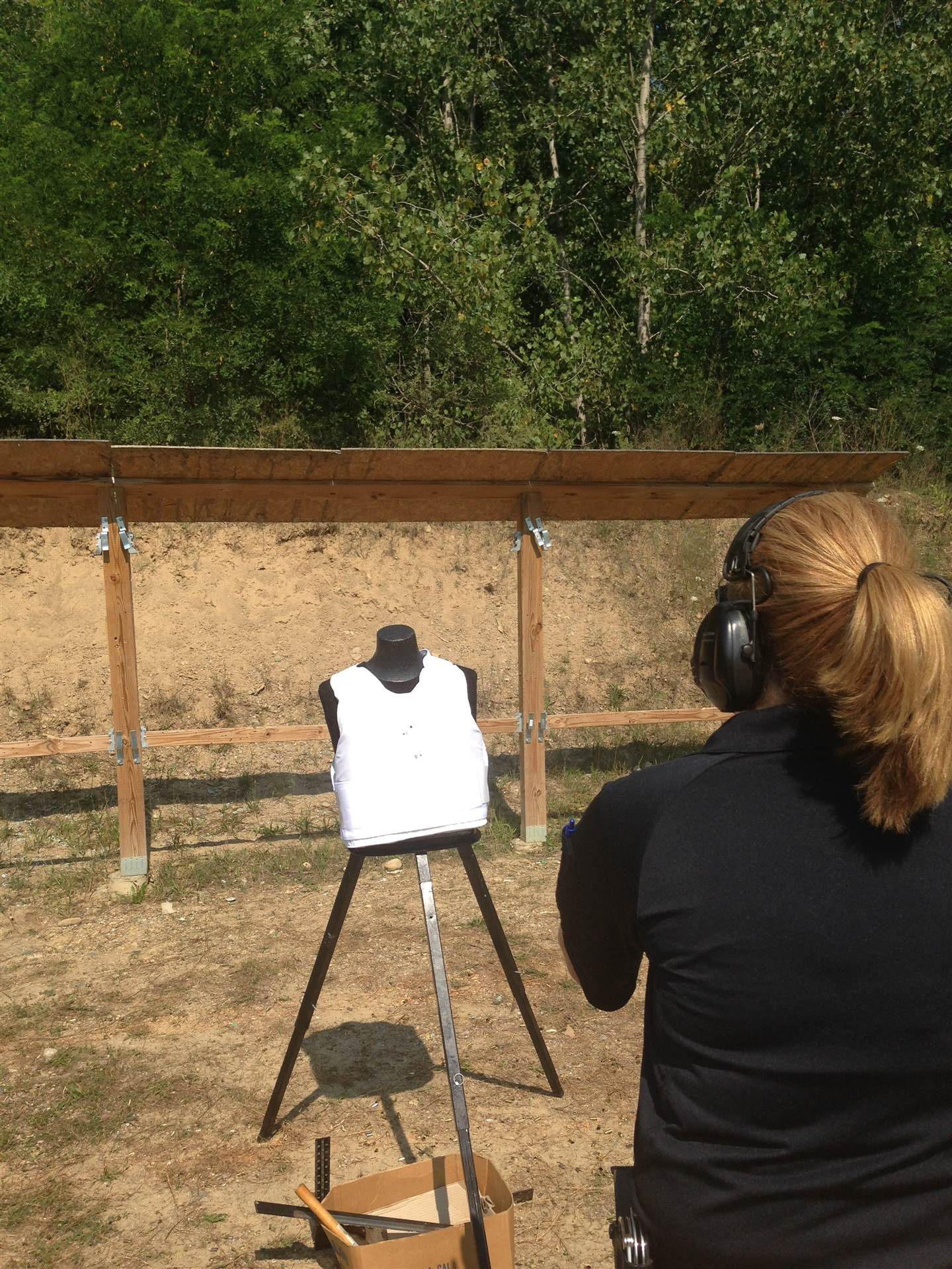 Results from the Body Armor Shoot at Ann Arbor PD