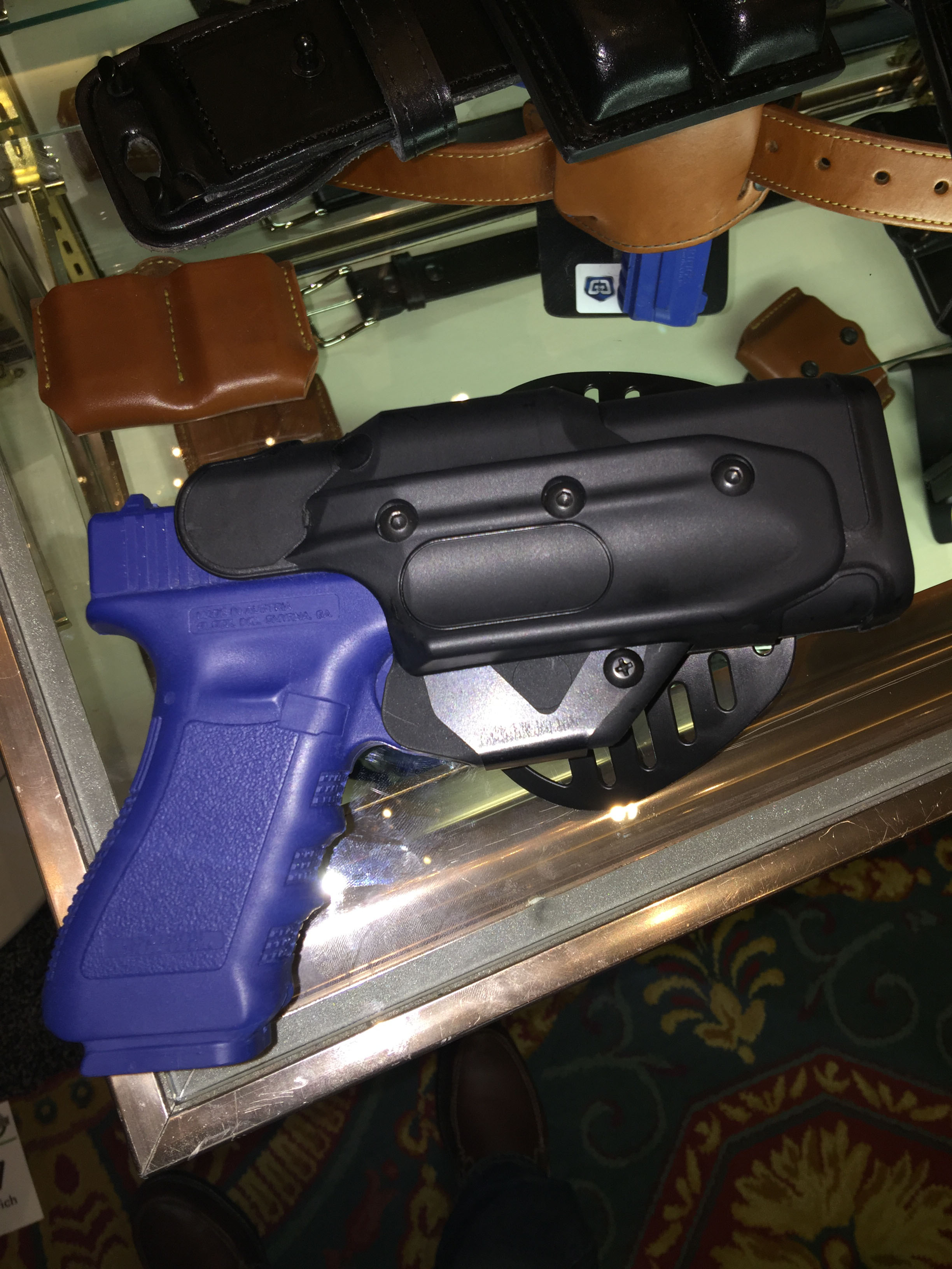 New Gould & Goodrich open top mag cases and XCalibur concealment holster at the 2017 SHOT Show