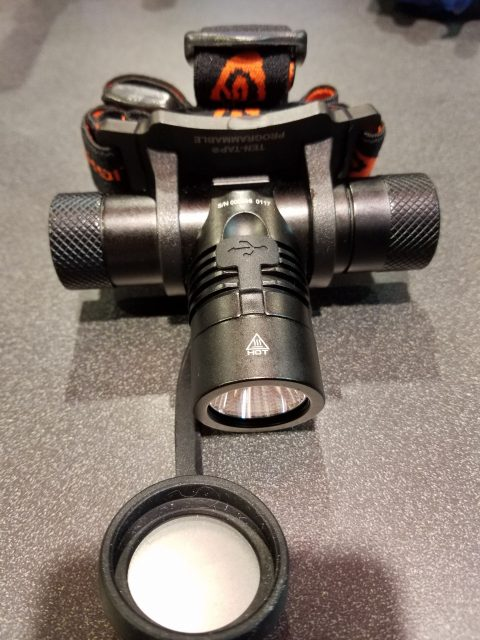 Streamlight Protac HL Headlamp at the 2017 SHOT Show