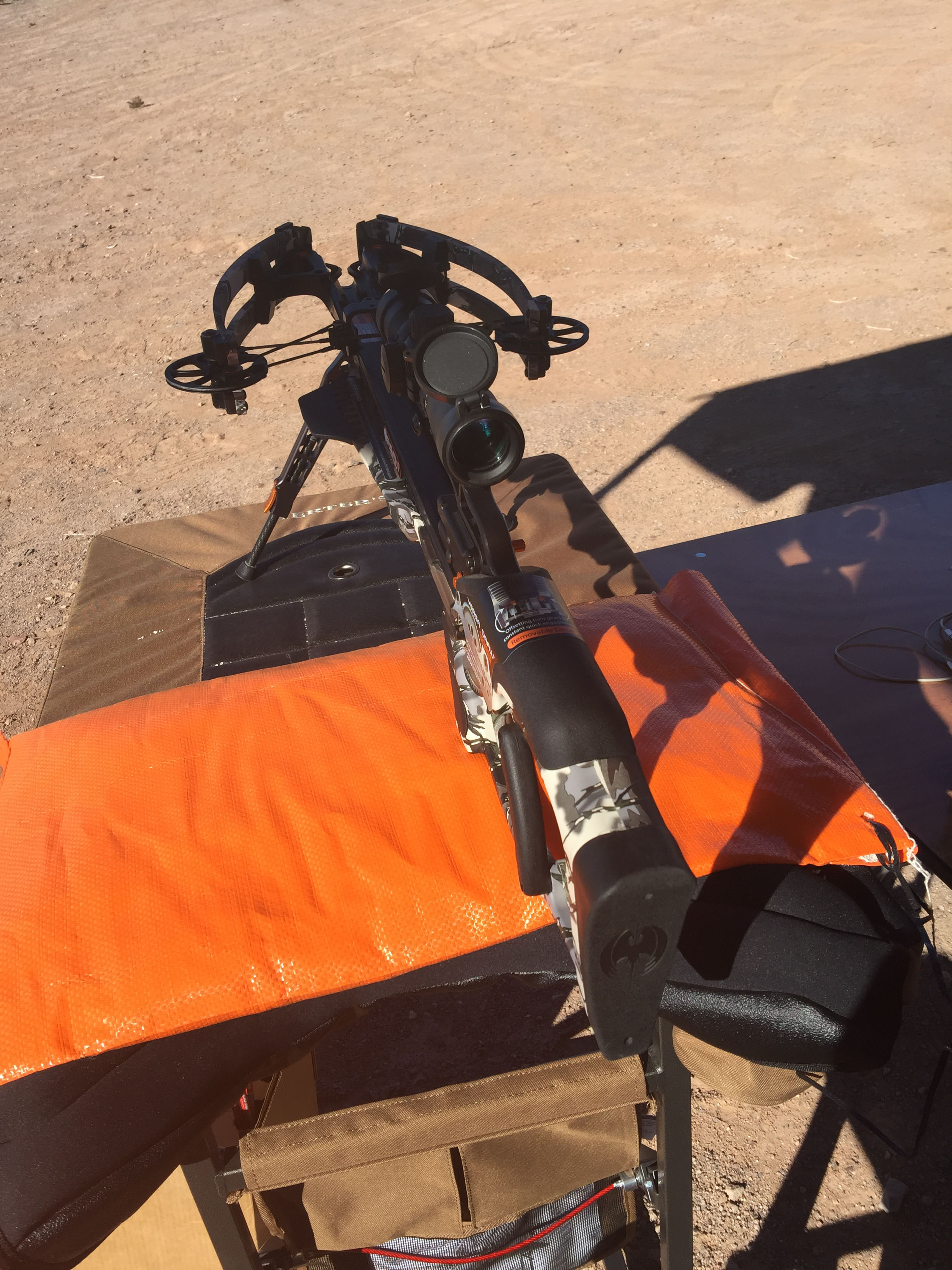 The Ravin Crossbow at the 2017 SHOT Show Range Day