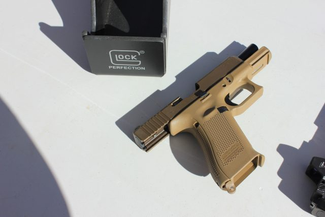 Glock 19X at the 2018 SHOT Show Range Day (1)