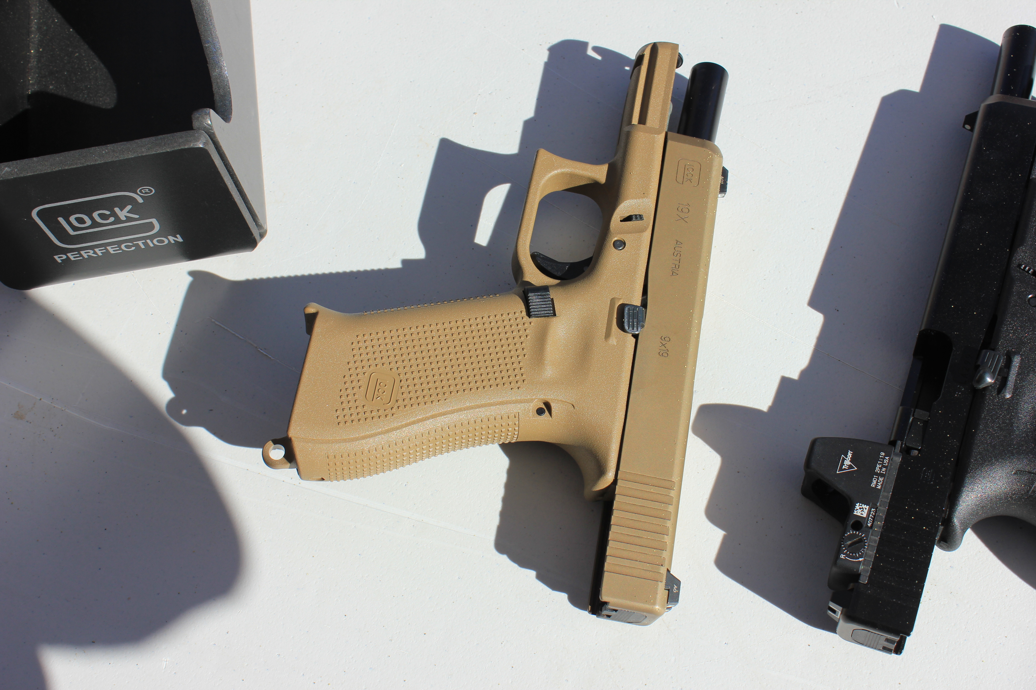 Shooting the Glock 19X at the 2018 SHOT Show – On Duty Gear