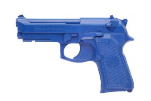 BERETTA 92F COMPACT Blue Training Gun by Ring's Blueguns