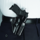 Galco Stinger Belt Holster - Glock 42, Rh, Blk