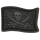 Maxpedition Jolly Roger Micropatch 1.125 X 0.75 (Stealth)