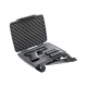 Pelican P1075,Pistol & Accessory Case,1075,Black