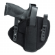 Uncle Mike's Inside-The-Waist Band Holsters w/Retention Strap - Nylon
